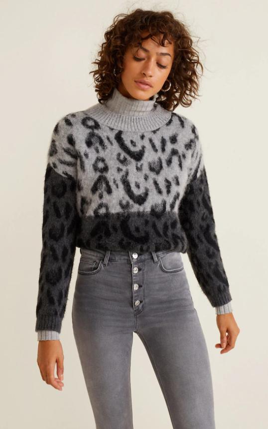d0a88ceb65d4 Mango Leopard Print Sweater - 39,99€ #theradicalblog #fall #knit #