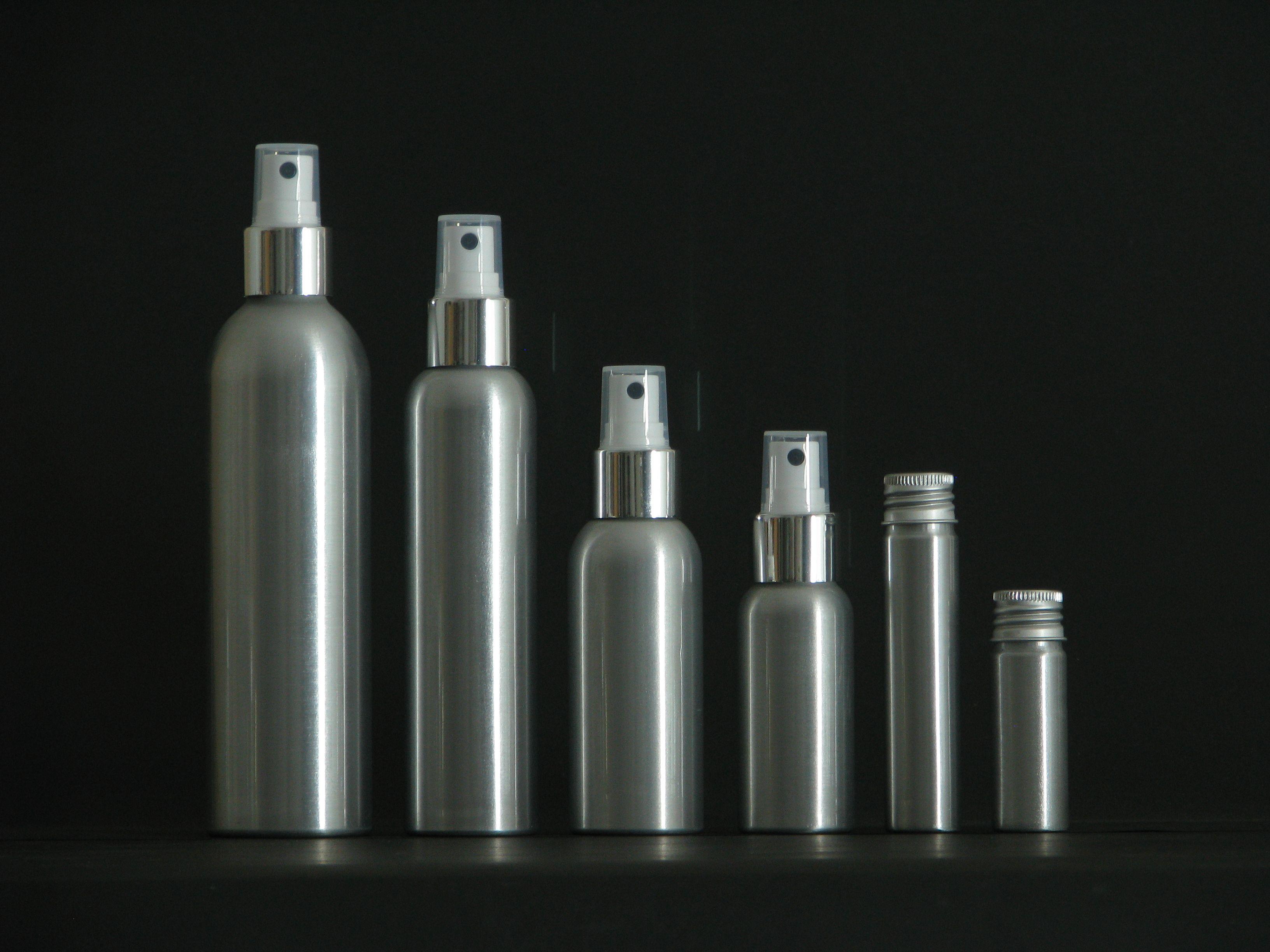 20ml250ml Aluminum Cosmetic Shampoo Pump Spray Bottle Our