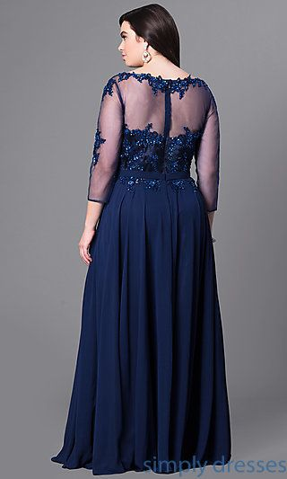 Shop Long Plus Size Prom Dresses With Sleeves At Simply Dresses Plus Size Formal Dresse Plus Size Formal Dresses Plus Size Prom Dresses Plus Size Long Dresses