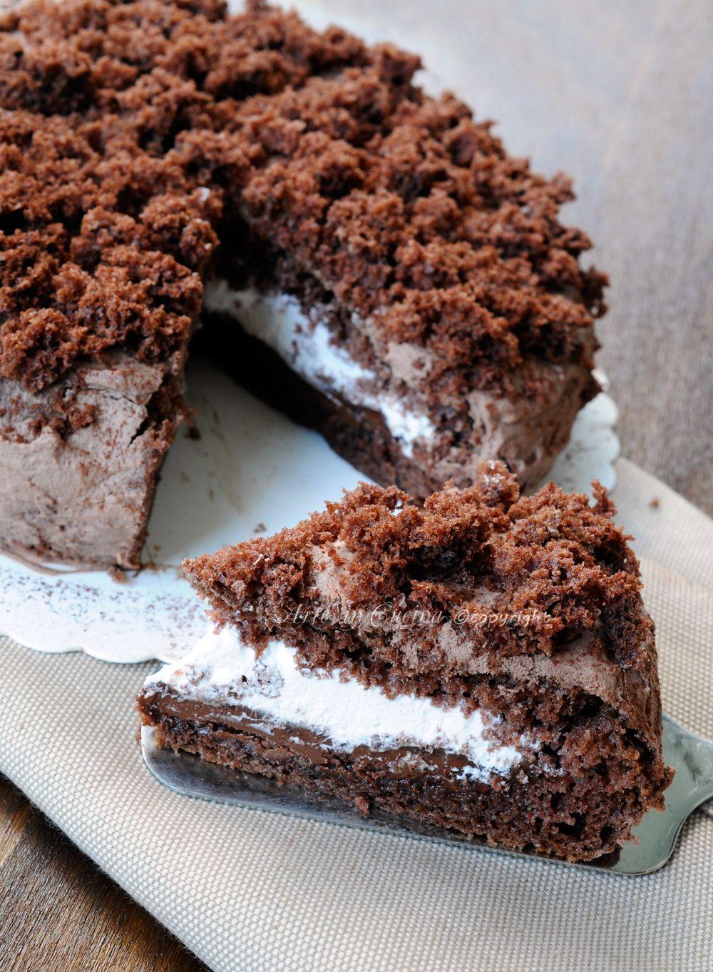 Ricetta Torta Nutella E Panna.Pin Su Nutella