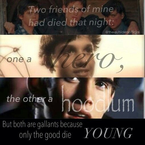 who dies in the book the outsiders