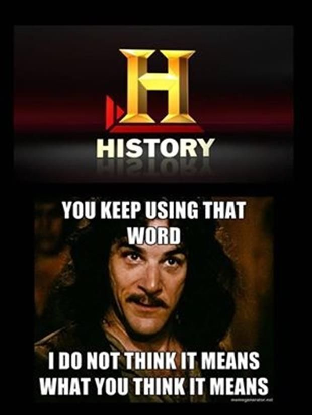 Seriously What Happened To The History Channel And Also Great