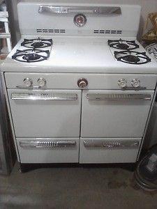 antique vintage magic chef gas late 1940u0027s or 1950u0027s model