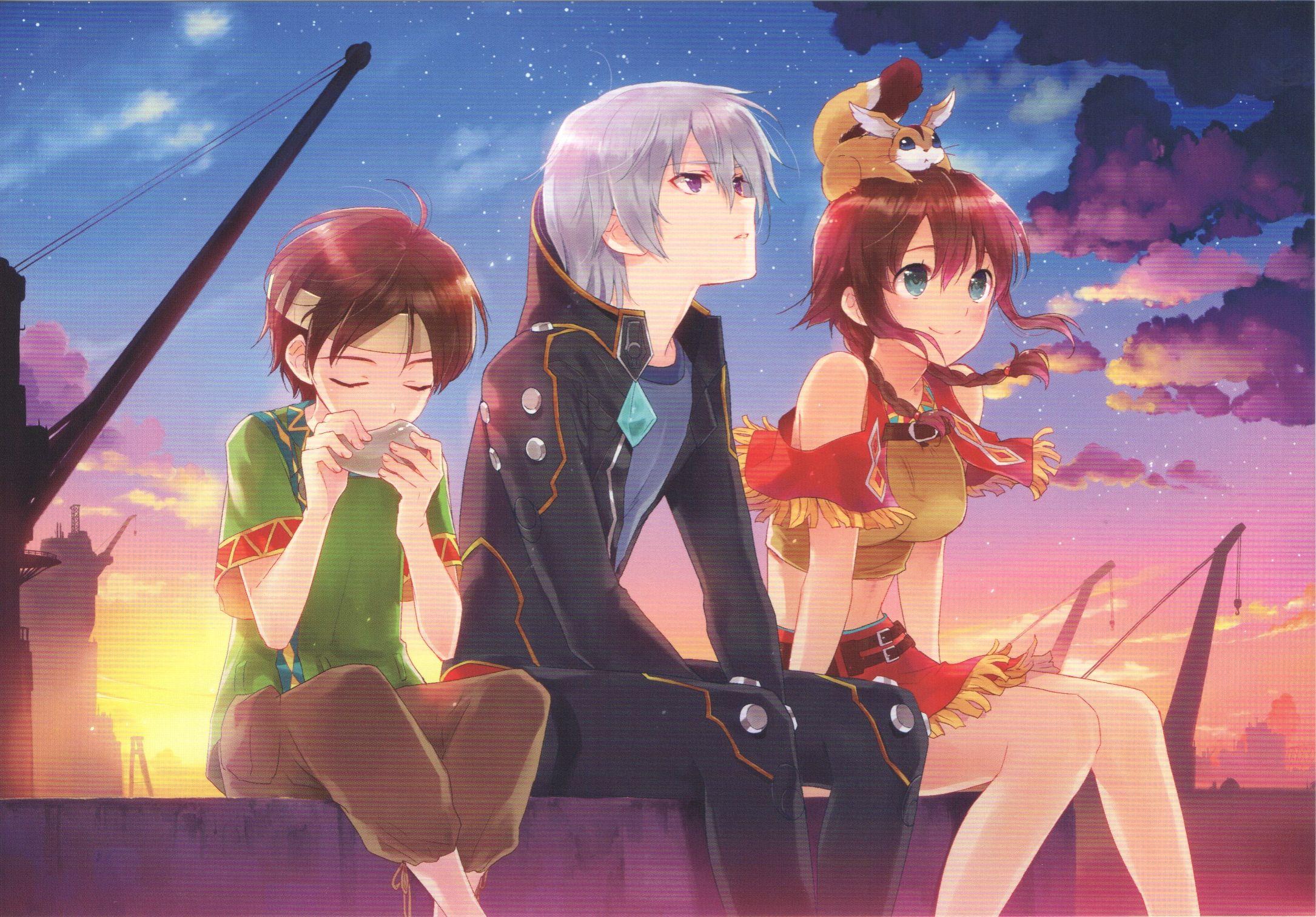 Tags Scan Kasukabe Akira End Cards Suisei No Gargantia Amy Suisei No Gargantia Ledo Suisei No Gargant Animation Artwork Anime Friendship Awesome Anime
