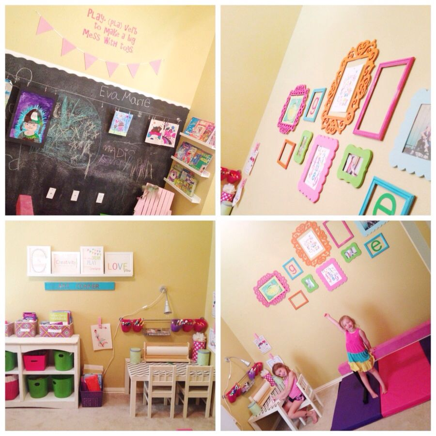 Playroom/ artroom for my girls