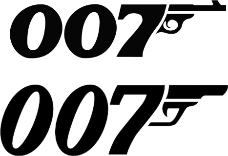 Pin 007 James Bond Logo Cake On Pinterest James Bond James Bond Party 007 James Bond