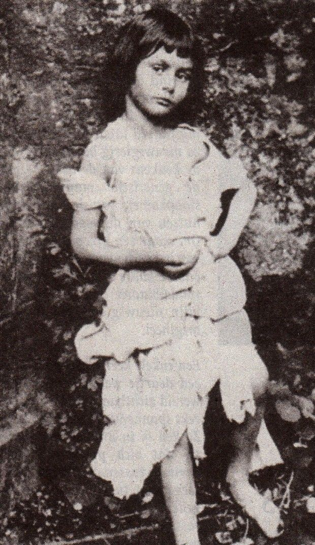 Alice Liddell (1852-1934) - the real Alice in Wonderland.