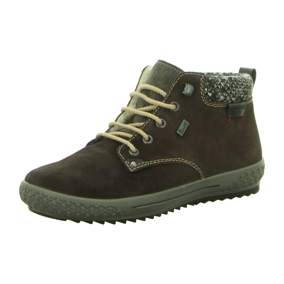 Rieker Damenschuhe Stiefel Stiefeletten Boots M6140 45 Grau