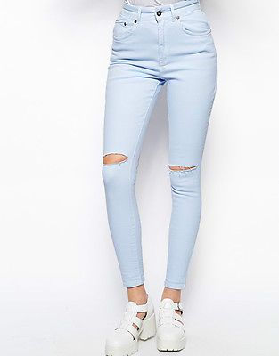Nasty Gal Urban Outfitters Topshop asos High Rise ripped jeans NWT SOLD OUT https://t.co/hcfi7CG9Mm https://t.co/uGGLm0ykGw