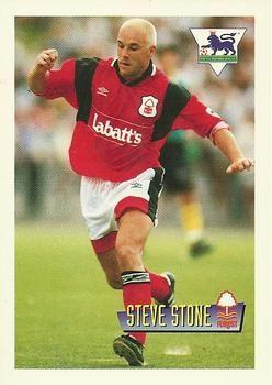 1996-97 Merlin's Premier League #45 Steve Stone Front