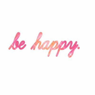 Être enfin heureuse
