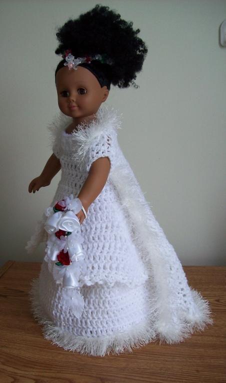 (4) Name: 'Crocheting : Winter Wedding Dreams
