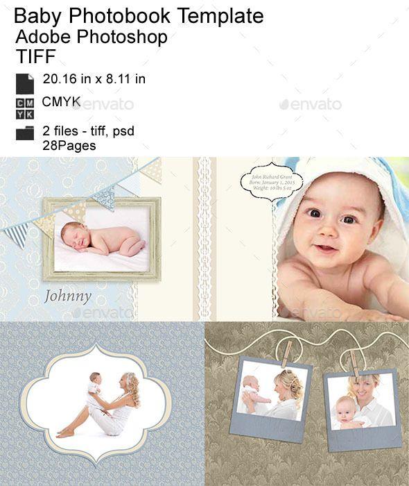 Baby Photobook / Album | Photo album printing and Print templates