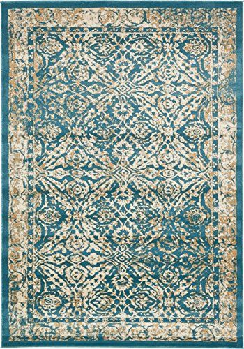 A2z Rug Teal 7 X 10 Ft St Martin Collection Area Rug Https Smile Amazon Com Dp B01n19k2gi Ref Cm Sw R Contemporary Area Rugs Area Rugs Teal Area Rug
