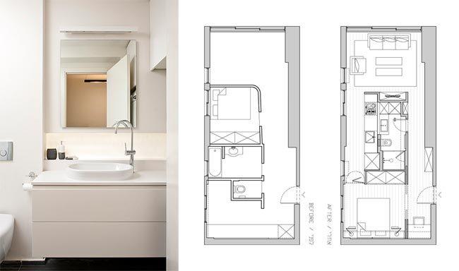 Amenager Un Appartement De 40 M2 Plan Appartement Design Petite Maison Amenagement Appartement