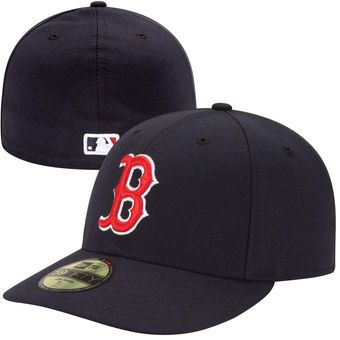 Men s Boston Red Sox New Era Navy Authentic Collection Low Profile Home  59FIFTY Fitted Hat 00eef3724f0