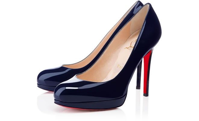 NEW VERY PRIVE 120 Black Patent Calfskin Women Shoes