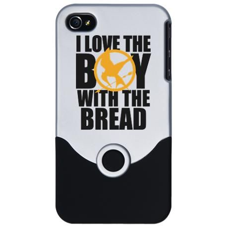 I Love the Boy with the Bread iPhone Case...getting this for my phone!!!