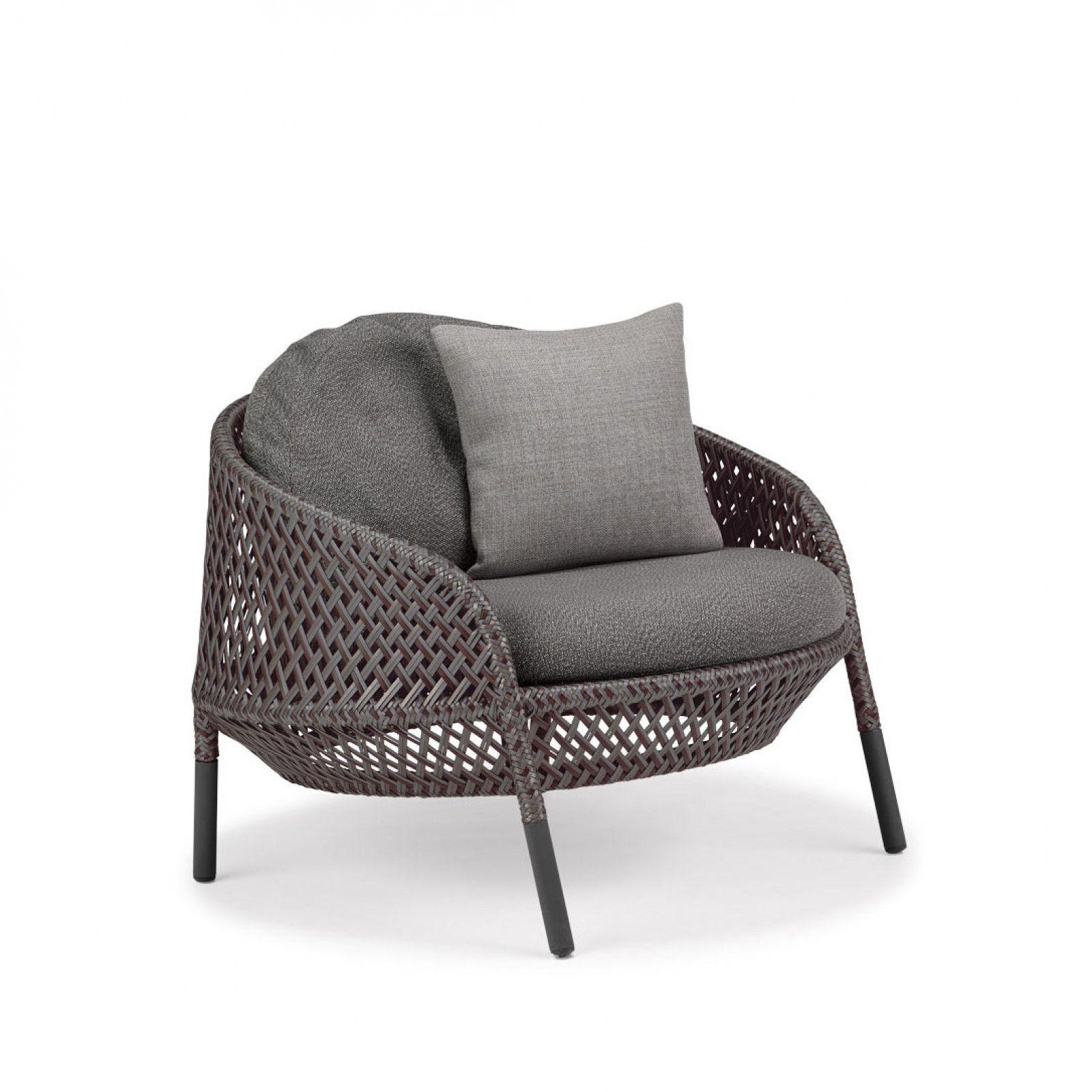 Dedon Ahnda Loungesessel Lounge Sessel Gartenmobel Design