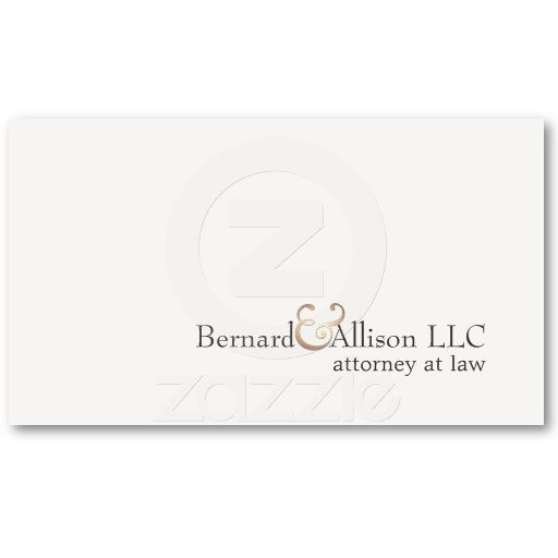 Elegant attorney at law simple off white card business card elegant attorney at law simple off white card business card colourmoves