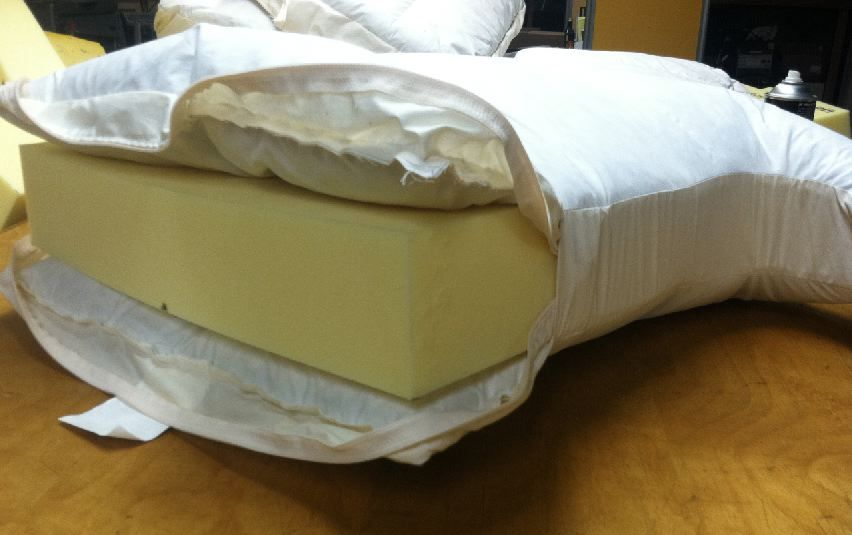 Cushion Works Poly Down Seat Cushion Diy Patio Furniture Cushions Couch Upholstery Upholstery Trim