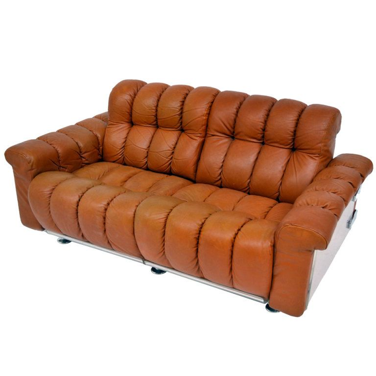 Sofa In Leather 70 S