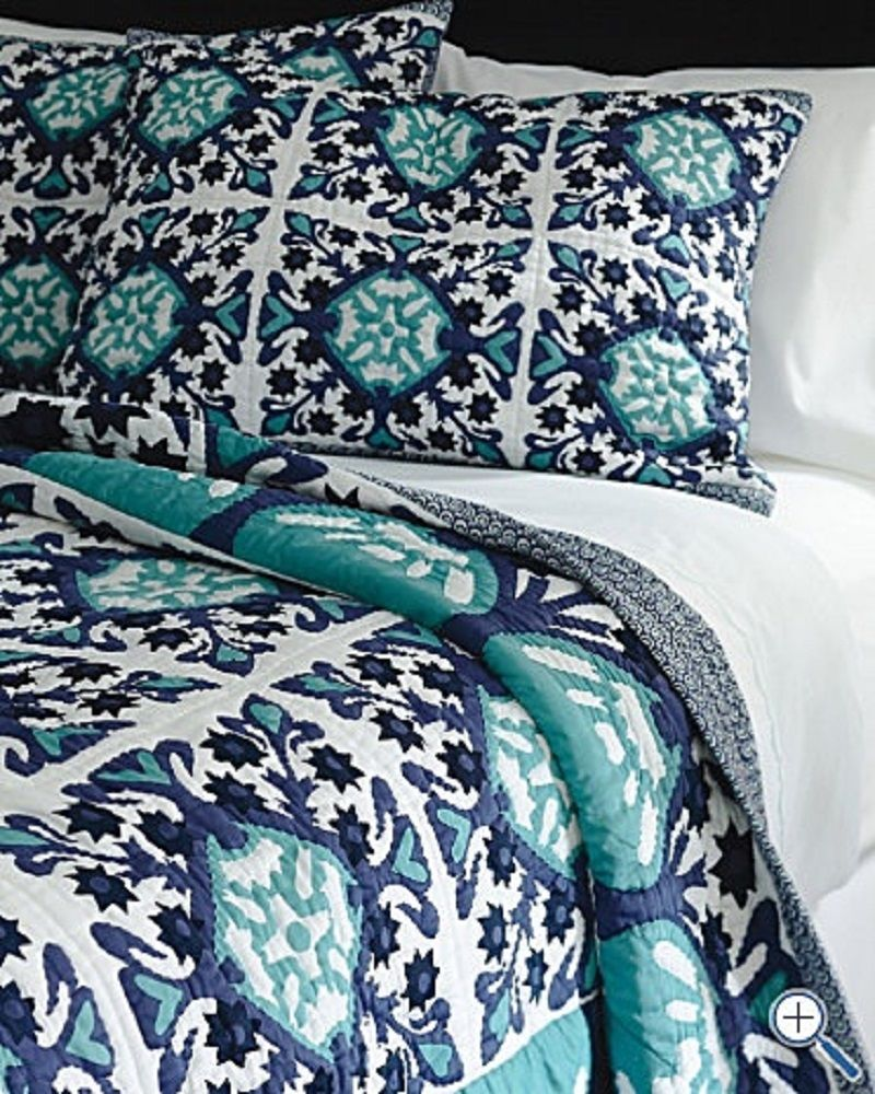 Guest Bedroom Inspiration Navy And Sea Glass Happily Ever After Etc Guest Bedroom Inspiration Apartment Decorating College Bedroom Bedroom Inspirations