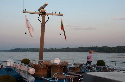 Early morning rise aboard the River Duchess on the Danube River