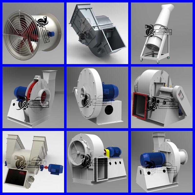 Xianrun Blower Provides All Types Centrifugal Fans Id Fan Fd Fan Radial Fan High Pressure Blower Large Capacity Centrifugal Fan Industrial Fan Exhaust Fan