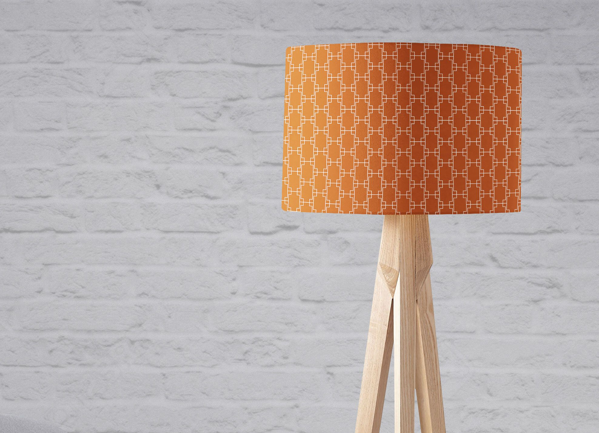 Orange lampshade rust decor burnt orange lampshade orange orange lampshade rust decor burnt orange lampshade orange geometric orange nursery aloadofball Choice Image