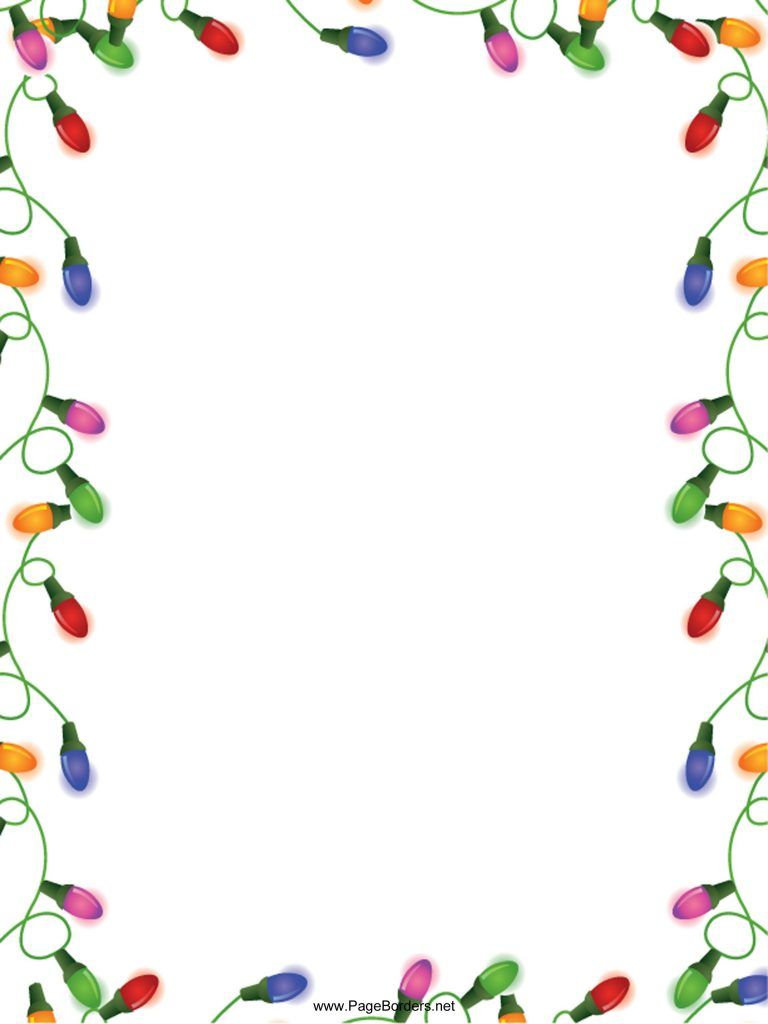 holiday word template borders thefreedl within free holiday border templates microsoft word