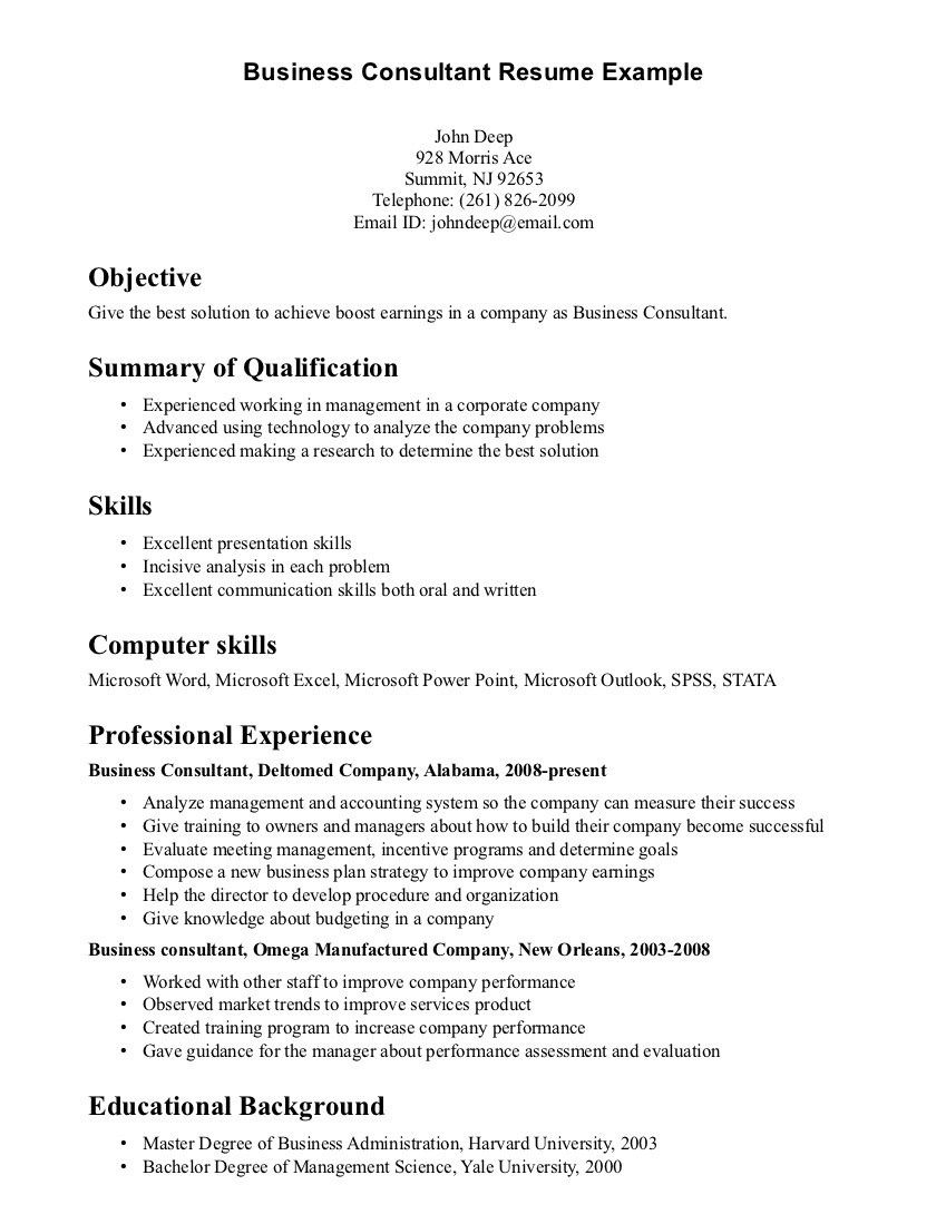 Writing A Cover Letter For Consulting Firm Site Offers Proofreading And Copyediting Services Business Resume Template Resume Examples Perfect Resume Example