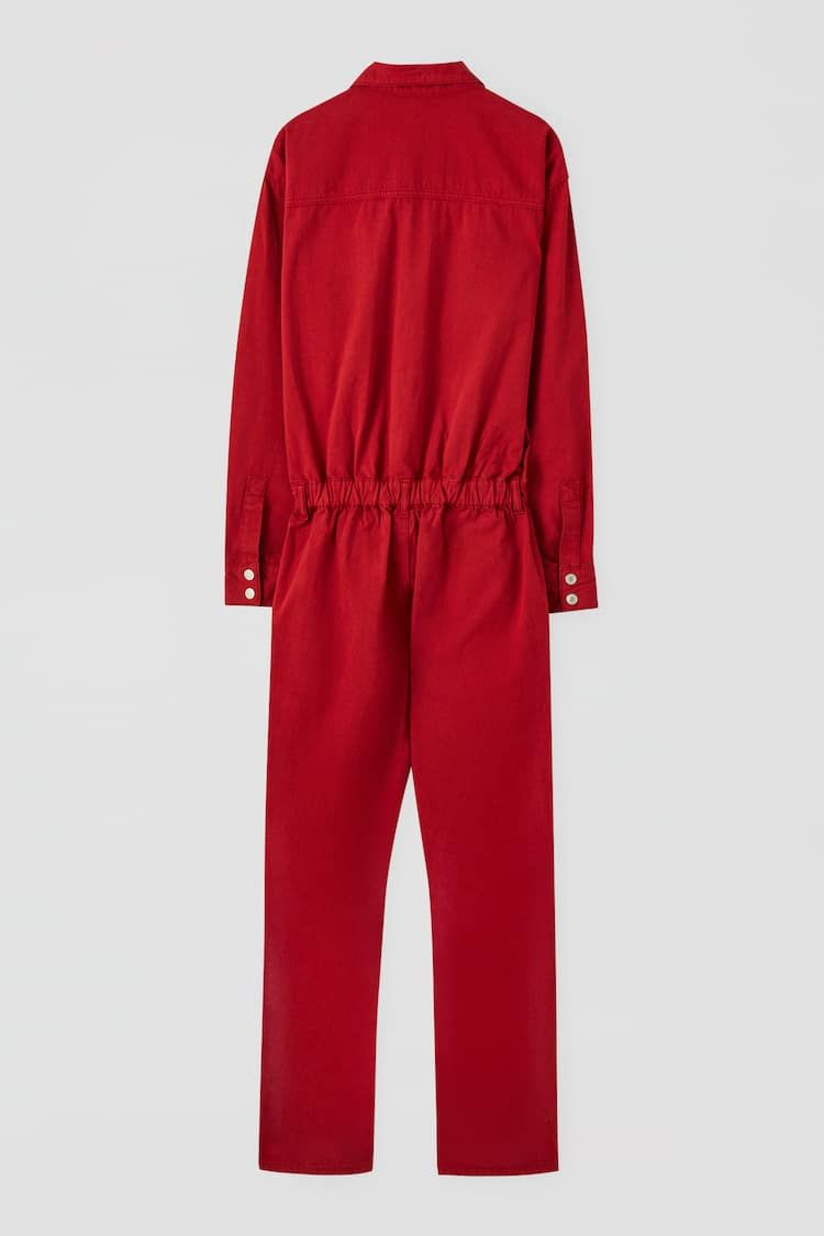Money Heist X Pull Bear Jumpsuit Jumpsuit Clothes Jumpsuits For Women