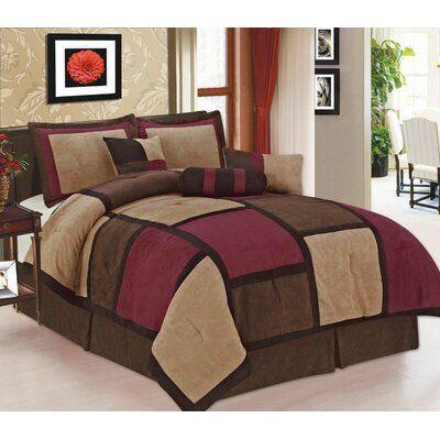 Brayden Studio Argaki Comforter Set In 2020 Queen Size Comforter