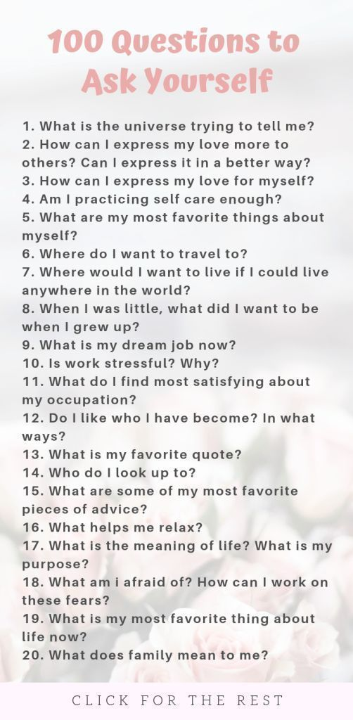 100 Questions to Ask Yourself for Self Growth -  Questions to Ask Yourself List for Self Growth #selfgrowth #personalgrowth #journaling #journalprom - #Growth #Questions #selfimprovement #personalgrowth