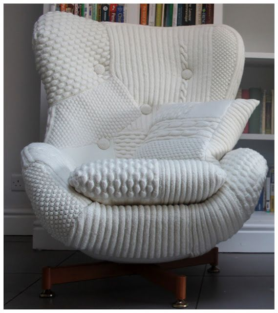 Wonderfully Snuggly Bevis Chair By Melanie Porter