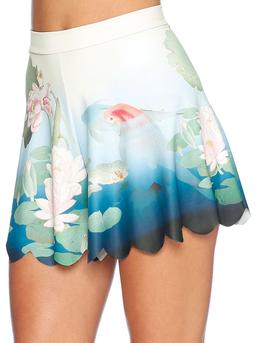 Don't Be Koi Shorties - 48HR (AU $50AUD) by Black Milk Clothing