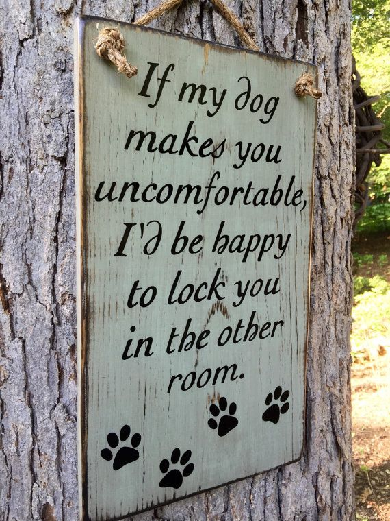Dog Sign Family Rustic Wood Sign Porch Sign Welcome Sign Dog
