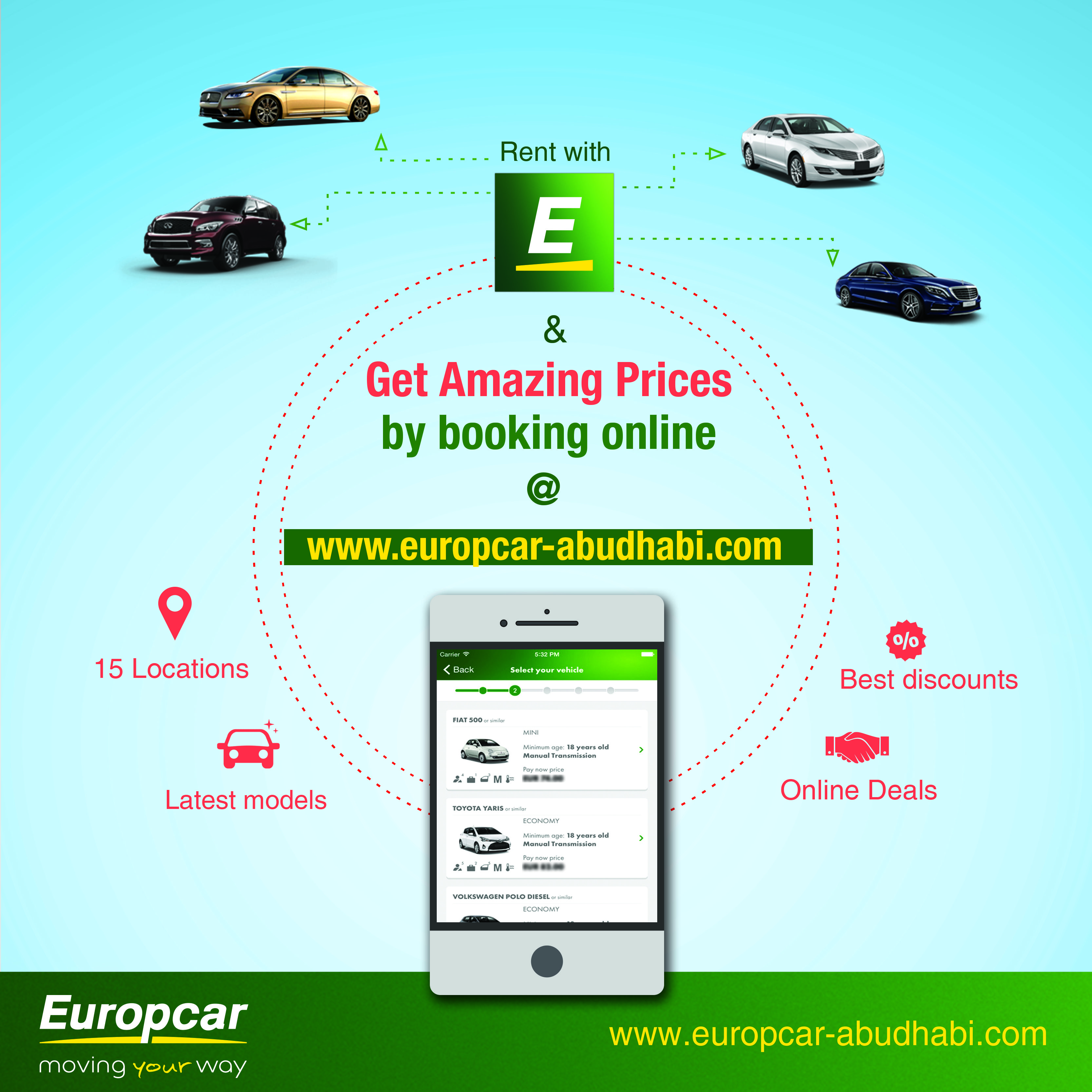 Rent With Europcar Get Amazing Prices By Booking Online Visit Us
