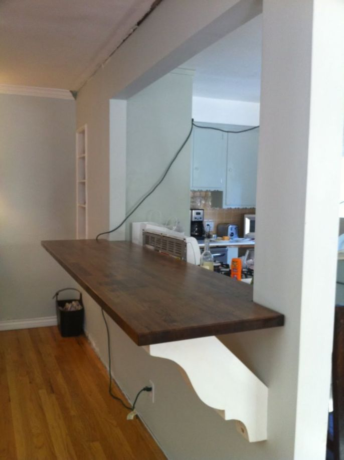 Kitchen Dining Room Knock Through Half Walls