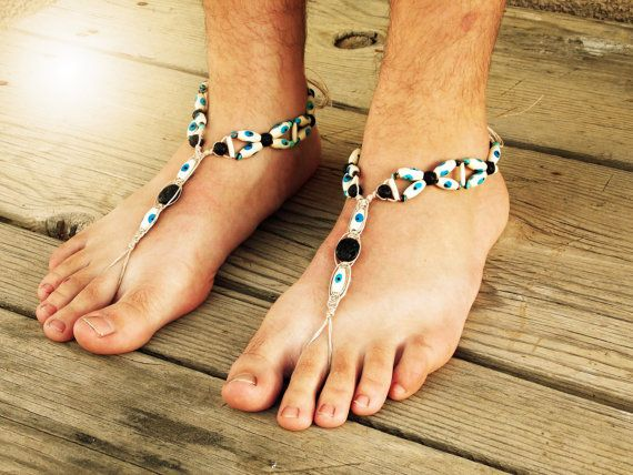 Mal de ojo los hombres sandalias pies descalzos d38a71de7ec6