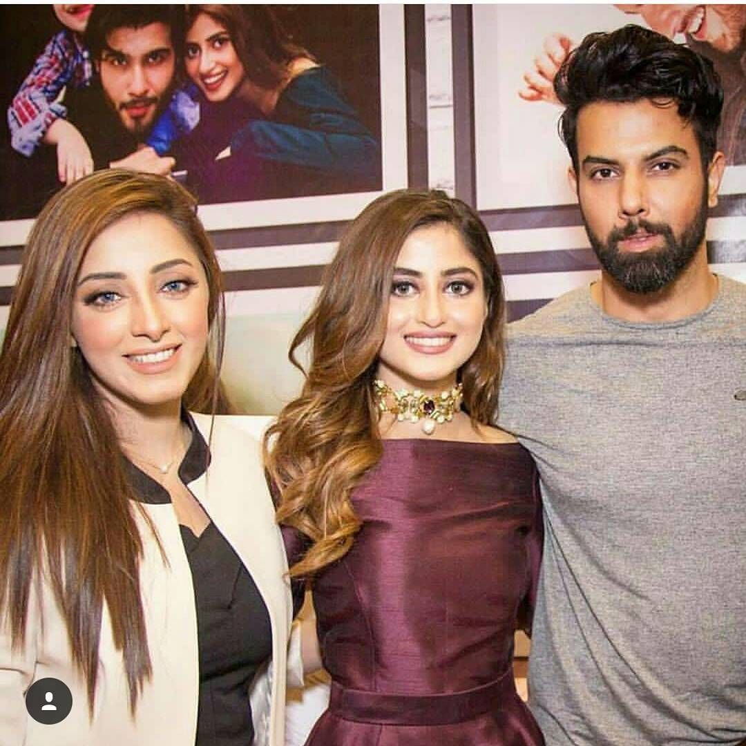 Sanam chaudhry,Sajal aly,noor ❤   Pakistani celebrities in 2019