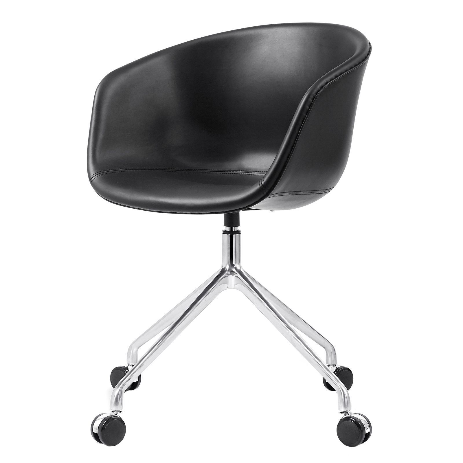 M26 Scandinavian Style Leather Office Chair Color Options Modern Office Chair Office Chair Scandinavian Office Chairs