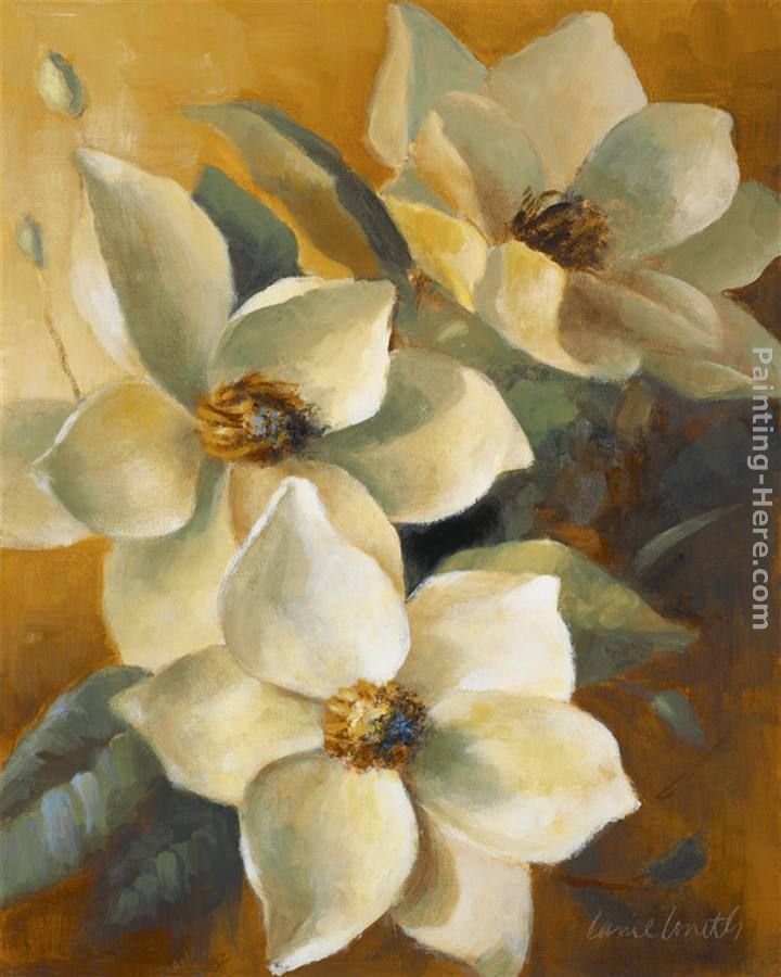 Lanie Loreth Magnolias Aglow at Sunset II Painting   Цветы ...