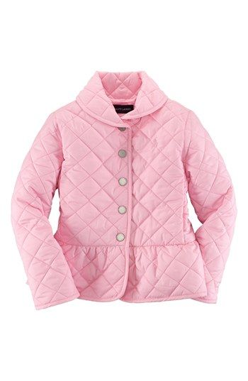 Ralph Lauren Quilted Peplum Jacket Toddler Girls Nordstrom Baby Fashion Toddler Jacket Kids Outfits