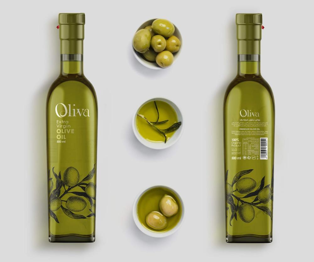Oliva Oil 2020 Olive Oil Packaging Olive Oil Bottle Design Olive Oil Bottles