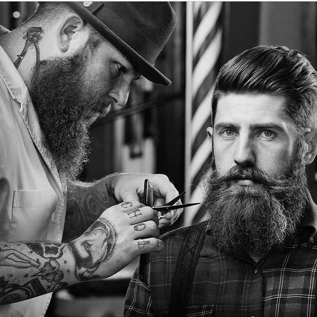 fashioned mens barber shop - 640×640