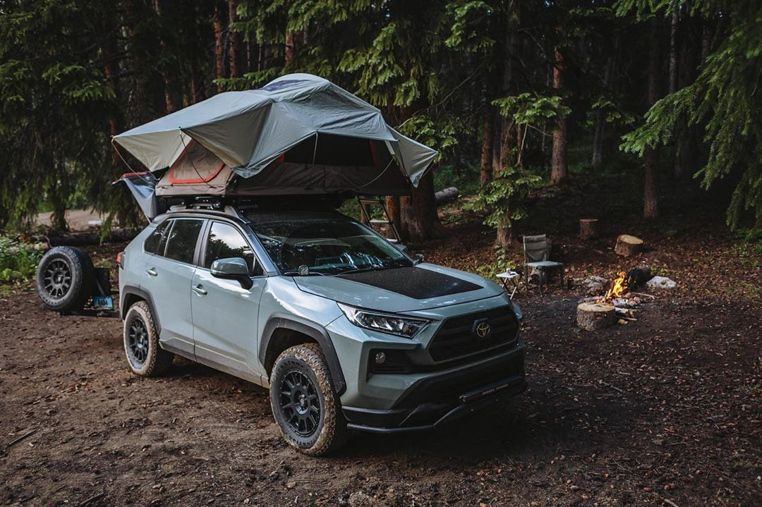 "2019 Toyota RAV4 Adventure on Instagram ""Tent, food"