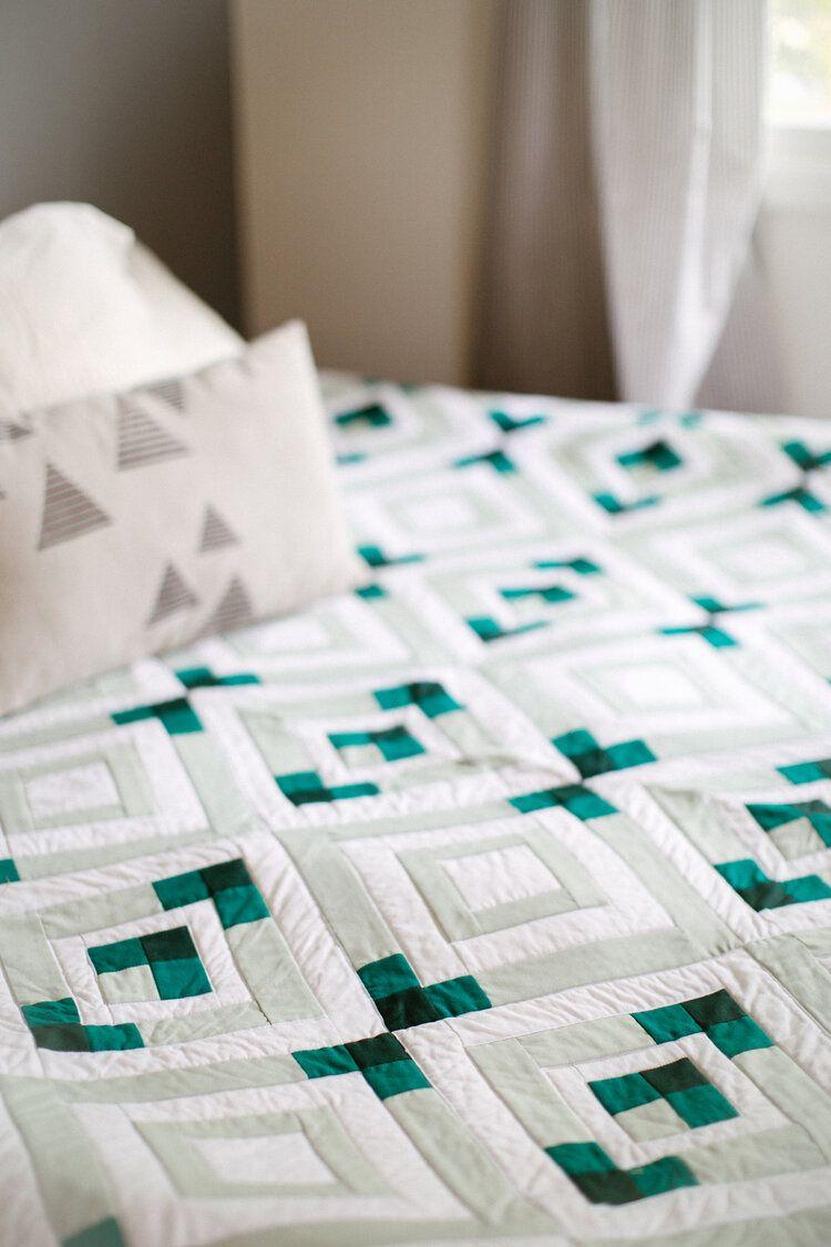 Crest Quilt Pattern — Alderwood Studio