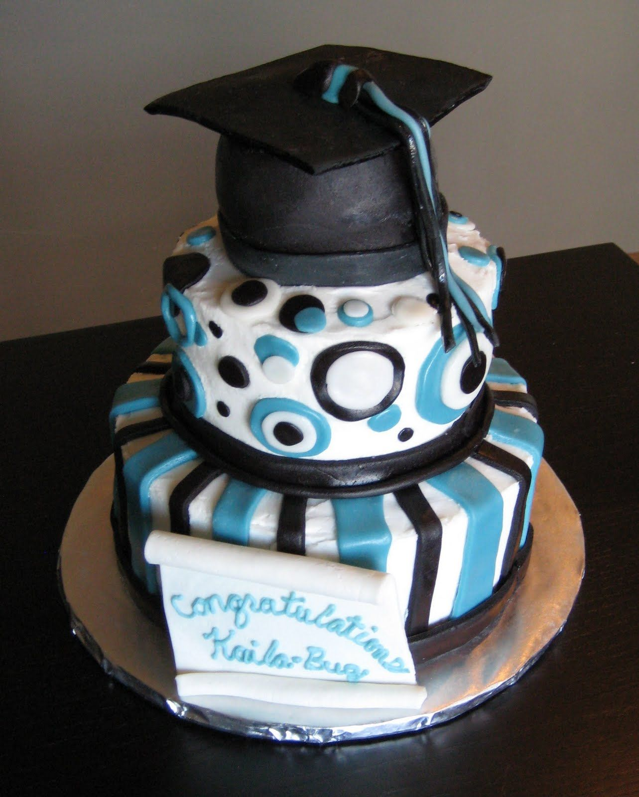 2014 graduation decorations - Custom Cakes By Julie Graduation Cake Cupcakes